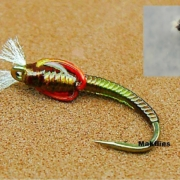 Fly-Tying-a-Spring-Olive-Midge-Pupa-Chironomid-by-Mak