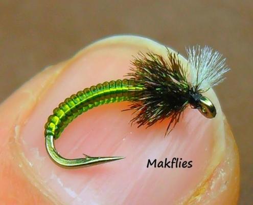 Fly-Tying-an-Olive-Midge-by-Mak