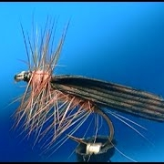Fly-tying-a-Cinnamon-Caddis-dry-fly