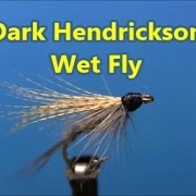 Fly-tying-a-Dark-Hendrickson-Wet-Fly