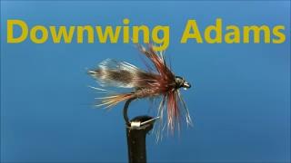 Fly-tying-a-Downwing-Adams