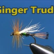 Fly-tying-a-Ginger-Trude