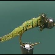 Fly-tying-a-Green-Rock-Worm