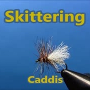 Fly-tying-a-Skittering-Caddis-dry-fly