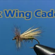 Fly-tying-an-Elk-Wing-Caddis-dry-fly