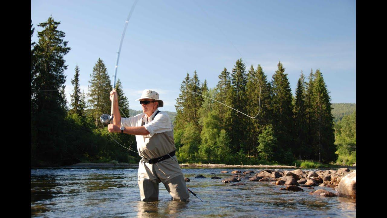 Norway-Salmon-Fishing-Orkla-River-Aunan-Lodge-HD.mov