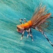 Tying-a-Western-Lady-Hopper-with-Martyn-White-dry-fly