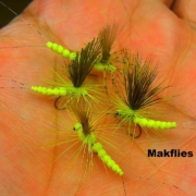 Tying-a-Yellow-Mayfly-Body-with-Tail-Part-01-by-Mak