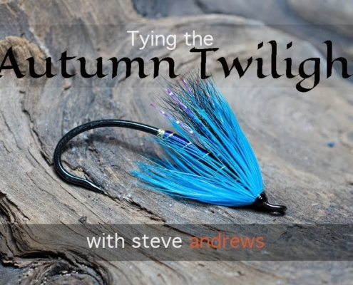 Tying-the-Autumn-Twilight-Salmon-Fly-with-Steve-Andrews