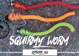 Tying-the-Squirmy-Worm-Trout-fly-Pattern-Ep168-PF-PiscatorFlies