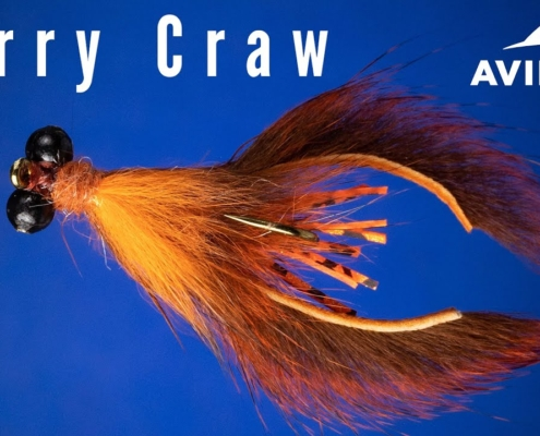 Curry-Craw-Fly-Tying