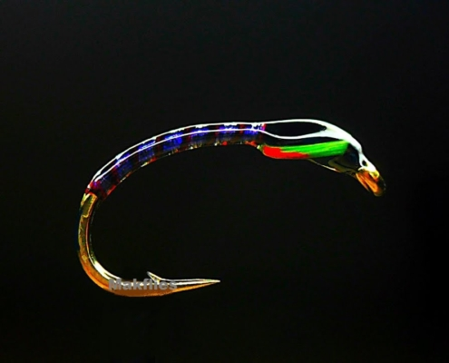 Fly-Tying-Ice-Blue-Competition-Trout-Buzzer-by-Mak
