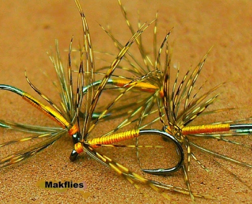 Fly-Tying-a-North-Country-Partridge-amp-Orange-Spider-By-Mak