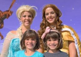 Frozen-ELSA-vs-a-Dragon-in-Fairy-Tale-Land-saved-by-Belle