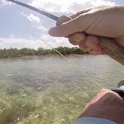 Permit-takes-backing-and-tests-the-drag-on-tibor-reel-Fly-Fishing-and-Dreams