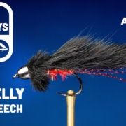Red-Belly-Bunny-Leech-Fly-Tying