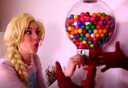 Spiderman-VS-Frozen-Elsa-and-jOKER-aNNA-Compiltions