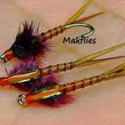 Fly-Tying-a-Brown-Goose-Biot-Nymph-by-Mak