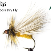 October-Caddis-Dry-Fly-Fly-Tying