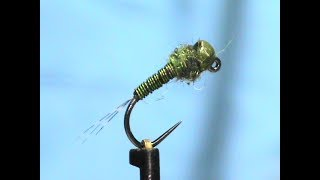 Fly-Tying-a-Simple-Olive-Perdigon-with-Jim-Misiura