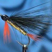 Fly-Tying-a-Black-Marabou-Orange-and-Gold-with-Jim-Misiura