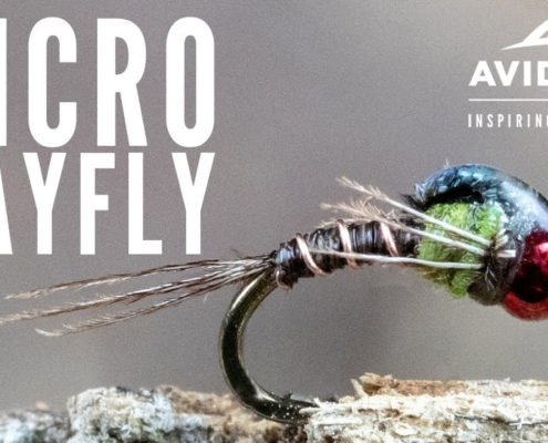 How-to-tie-the-Micro-Mayfly-Fly-Tying