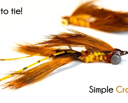 Simple-Crayfish-With-rabbit-zonkers-McFly-Angler-Fly-Tying-Tutorials
