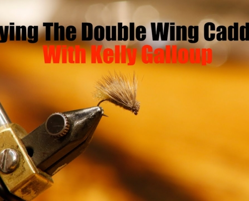Tying-The-Double-Wing-Caddis-with-Kelly-Galloup