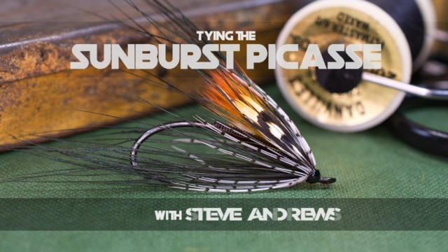 Tying-the-Sunburst-Picasse-Salmon-Fly-with-Steve-Andrews