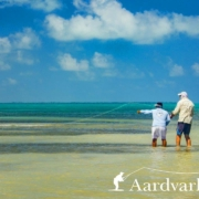 Fly-Fishing-From-Punta-Allen-Fishing-Club-In-Mexico