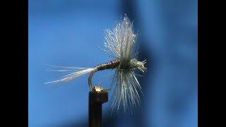 Fly-Tying-a-Moose-Mane-Blue-Quill-with-Jim-Misiura