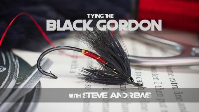 Tying-the-Black-Gordon-Salmon-Fly-with-Steve-Andrews
