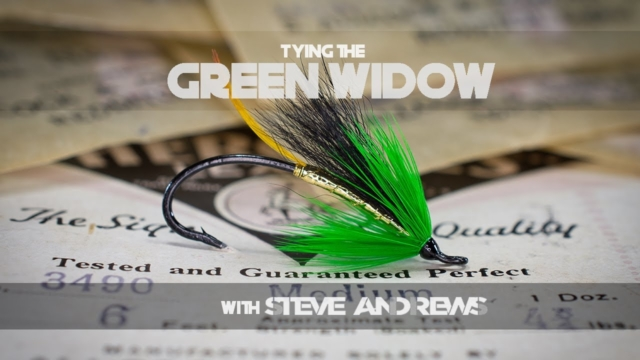 Tying-the-Green-Widow-Salmon-Fly-with-Steve-Andrews