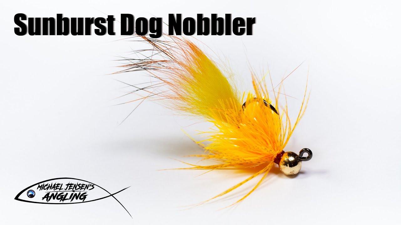 Sunburst-Dog-Nobbler-mini-jig-streamer-fly-tying