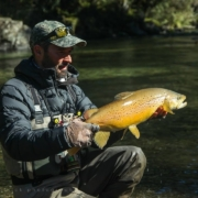 Campfire-reflections-Large-late-season-Browns.-Fly-fishing-NZ