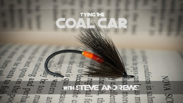 How-To-Tie-The-Coal-Car-Salmon-Fly-with-Steve-Andrews