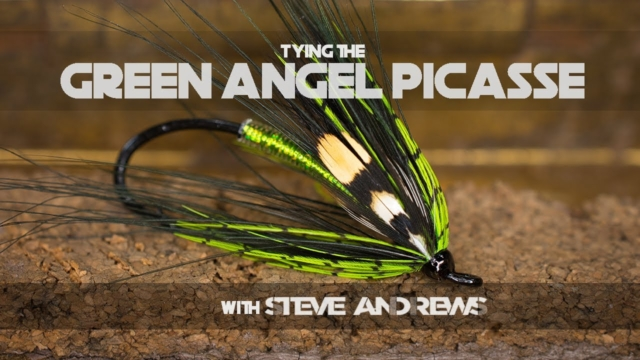 How-To-Tie-The-Green-Angel-Picasse-Salmon-Fly-with-Steve-Andrews