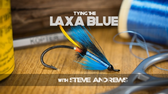 How-To-Tie-The-Laxa-Blue-Salmon-Fly-with-Steve-Andrews