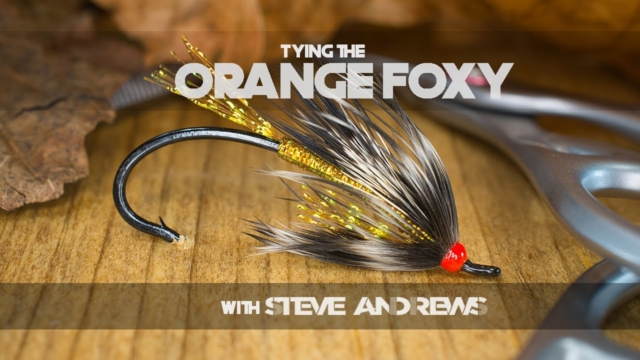 How-To-Tie-The-Orange-Foxy-Salmon-Fly-with-Steve-Andrews