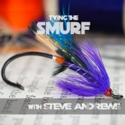 How-To-Tie-The-Smurf-Salmon-Fly-with-Steve-Andrews