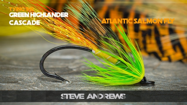 Tying-The-Green-Highlander-Cascade-Salmon-Fly-with-Steve-Andrews