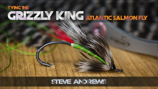 Tying-The-Grizzly-King-Salmon-Fly-with-Steve-Andrews