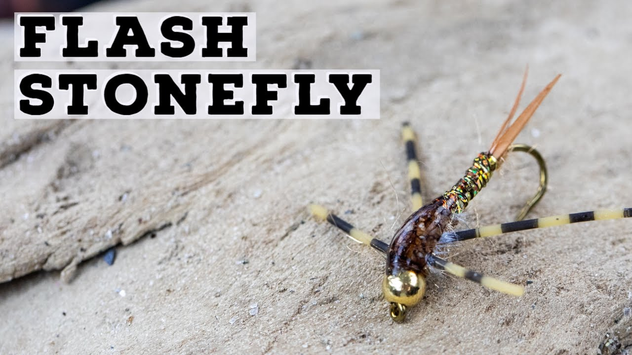Flash-Stonefly-Fly-Tying-Tutorial