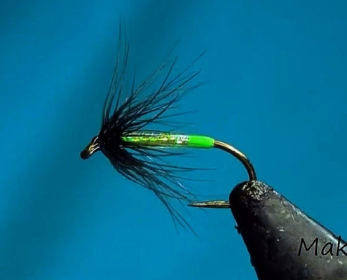 Fly-Tying-a-Soft-Hackle-Holographic-Spider-by-Mak