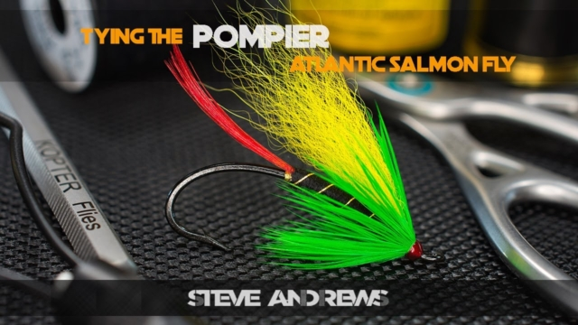 Tying-The-Pompier-Atlantic-Salmon-Fly-with-Steve-Andrews