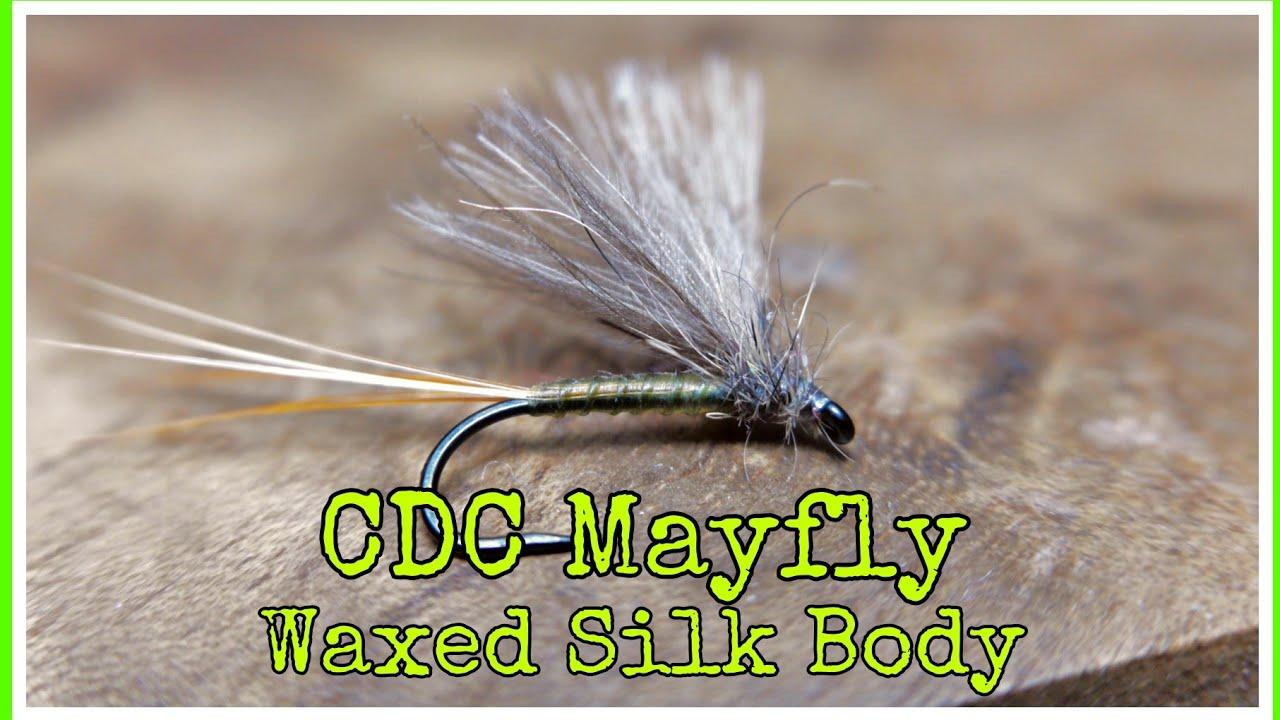 CDC-Mayfly-Waxed-Silk-Body