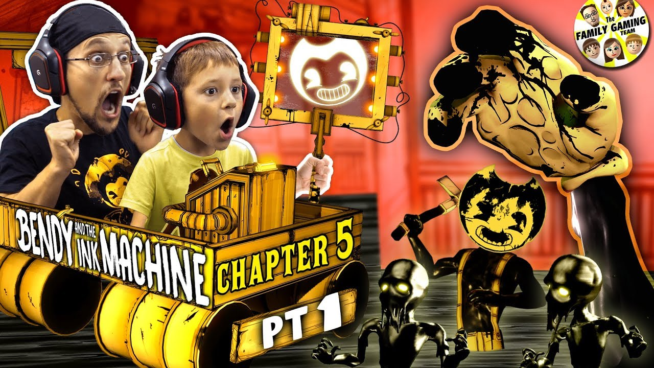 BENDY-the-INK-MACHINE-Chapter-5-The-END-of-FGTEEV-BENDY-Secrets-on-the-Wall