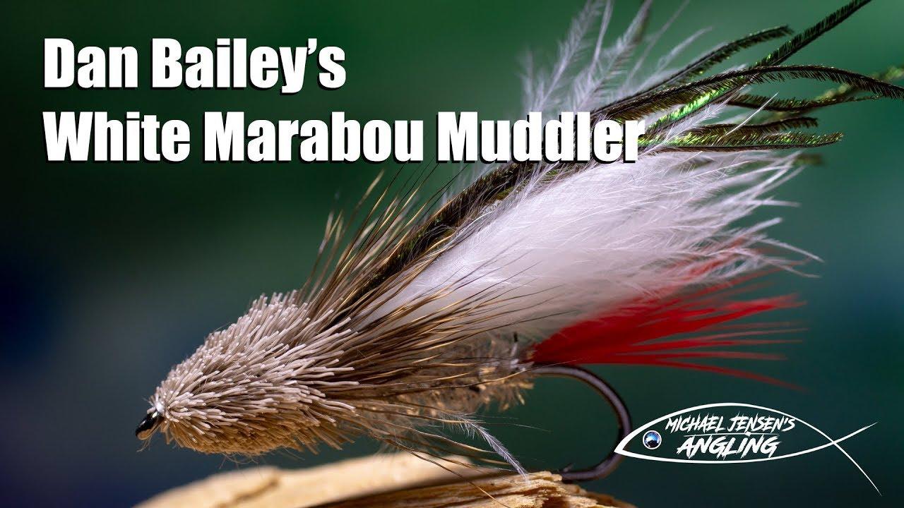 Dan-Baileys-White-Marabou-Muddler-Classic-streamer-fly-tying