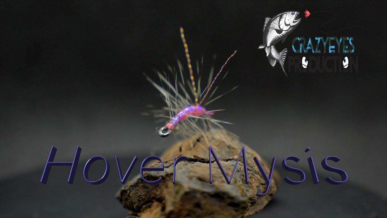 Fluebinding-Kystflue-Havoerred-Mysis-imitation.-A-fly-tying-tutorial