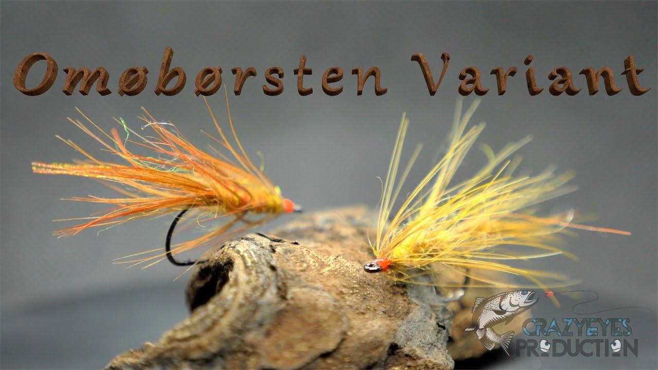 Fluebinding-Kystflue-til-havoerreder-Omoeboersten-Variant.-Fly-tying-tutorial